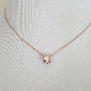 New kate spade Rose Gold  Lady Marmalade Necklace